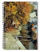 Autumn In Paris Spiral Notebook