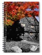 Autumn In Salem Spiral Notebook