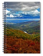 Autumn In Shenandoah Park Spiral Notebook