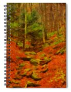 Autumn In Sproul State Forest Spiral Notebook