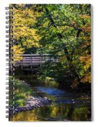 Autumn In Stillwater Spiral Notebook