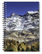 Autumn In The Alps 1 Spiral Notebook