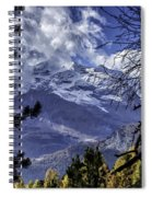Autumn In The Alps 3 Spiral Notebook