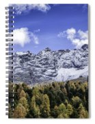 Autumn In The Alps Spiral Notebook