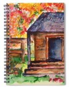 Autumn In The Backwoods Spiral Notebook