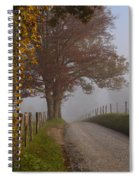 Autumn In The Cove Spiral Notebook