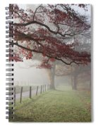 Autumn In The Cove IIi Spiral Notebook