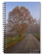 Autumn In The Cove V Spiral Notebook