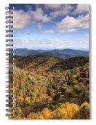 Autumn In The Blue Ridge Mountains Spiral Notebook