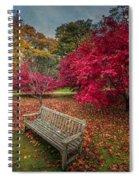 Autumn In The Park Spiral Notebook