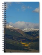 Autumn In The Sangres Spiral Notebook