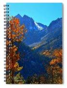 Autumn In The Sierras Spiral Notebook