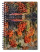 Autumn In The Smokey's Spiral Notebook