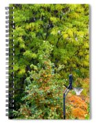 Autumn In The Suburbs Spiral Notebook
