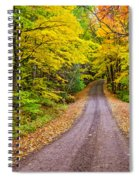 Autumn Journey Spiral Notebook