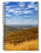 Autumn Layers Spiral Notebook