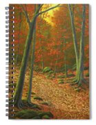 Autumn Leaf Litter Spiral Notebook