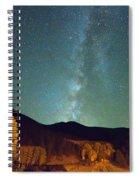 Autumn Milky Way Spiral Notebook