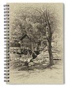 Autumn Mill 2 Antique Spiral Notebook