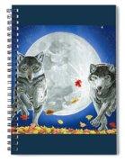Autumn Moon Spiral Notebook