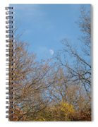 Autumn Moonrise Spiral Notebook