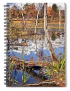 Autumn Morning At The Marsh Spiral Notebook