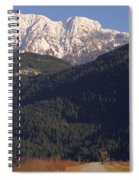 Autumn Snowcapped Mountain - Golden Ears - British Columbia Spiral Notebook