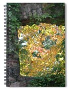 Autumn Naturally Framed Spiral Notebook