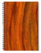 Autumn Number Three Spiral Notebook
