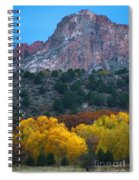 Autumn Of The Gods Spiral Notebook