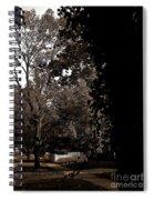 Autumn On Maple Road Spiral Notebook
