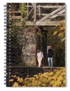Autumn On The C And O Canal Spiral Notebook