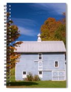Autumn On The Farm Spiral Notebook