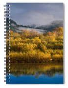 Autumn On The Klamath 1 Spiral Notebook