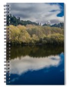 Autumn On The Klamath 10 Spiral Notebook