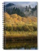 Autumn On The Klamath 4 Spiral Notebook