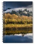 Autumn On The Klamath 6 Spiral Notebook