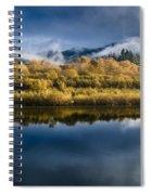 Autumn On The Klamath 7 Spiral Notebook