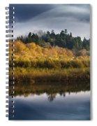 Autumn On The Klamath 9 Spiral Notebook
