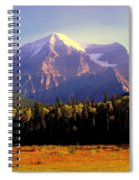 Autumn On The Mount Spiral Notebook