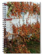 Autumn On The Wagon Spiral Notebook
