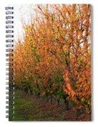 Autumn Orchard Spiral Notebook