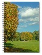 Autumn Panorama 1 Spiral Notebook