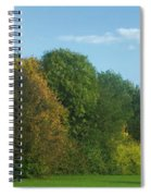 Autumn Panorama 3 Spiral Notebook
