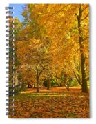 Autumn Park Spiral Notebook