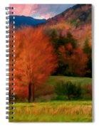 Autumn Pasture Spiral Notebook