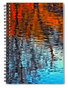 Autumn Patterns Spiral Notebook