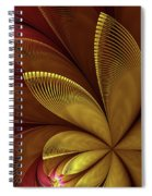 Autumn Plant Spiral Notebook