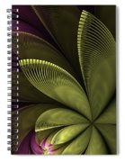 Autumn Plant II Spiral Notebook