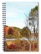 Mendon Ponds In Autumn Spiral Notebook